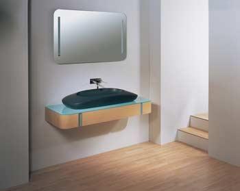 Moderní koupelnový set