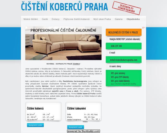 Čištění koberců Praha