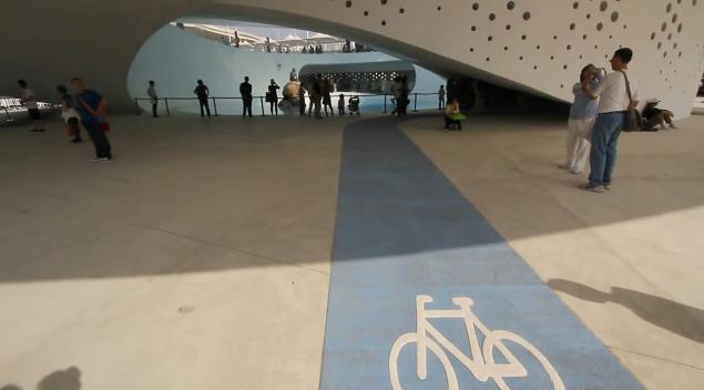 Dánský pavilon na EXPO 2010