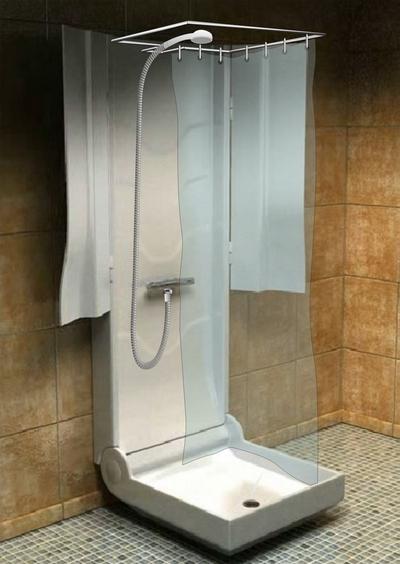 Rozložená sprcha