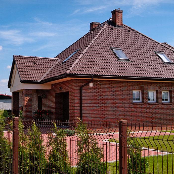 Ukázka realizace střechy