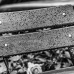Židle na dešti